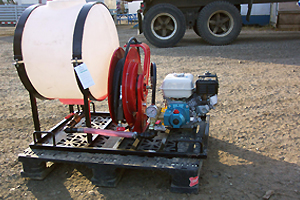 portable pressure pump on rent