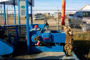 installed Oil well Pump